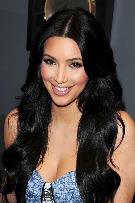 Hot Beauty Kim Kardashian At Siriusxm Radio