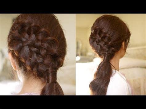 Hair Tutorial: Double Braided Sidedo for Medium to Long