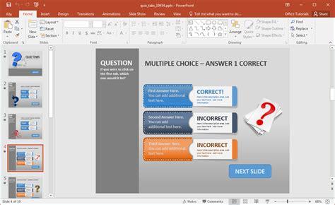 Resume sample and template database costumepartyrun create a quiz in powerpoint with quiz tabs powerpoint template toneelgroepblik Choice Image