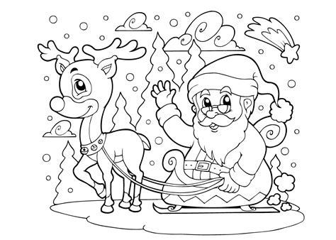 De A Kleurplaat by Kleurplaat Kerstman 33 Allermooiste Kerstman Kleurplaten