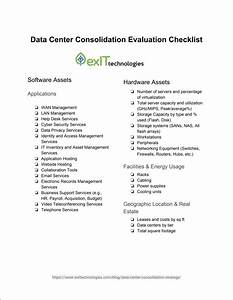 Data Center Consolidation Strategy  Improve And Consolidate