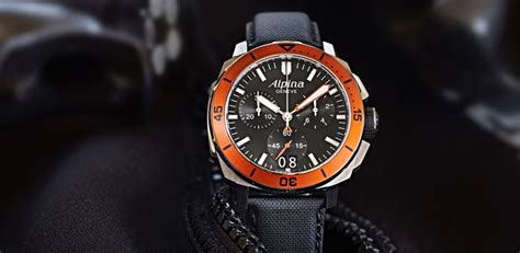 Alpina Watches Reveals The Seastrong Diver 300 Chronograph