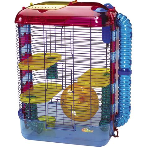 hamster cages buy superpet crittertrail 3 size 16x10x22 5 quot