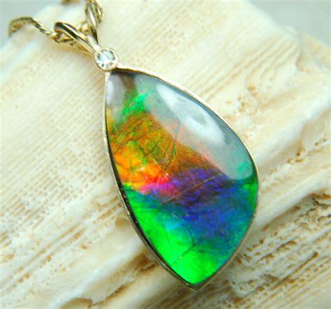 ammolite gems  jewelry