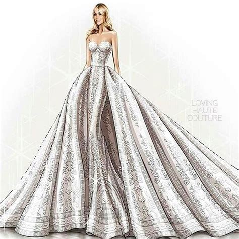 sofia vergara zuhair murad sofia vergara wore a custome made wedding gown by zuhair