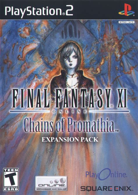 final fantasy xi  chains  promathia  playstation   mobygames