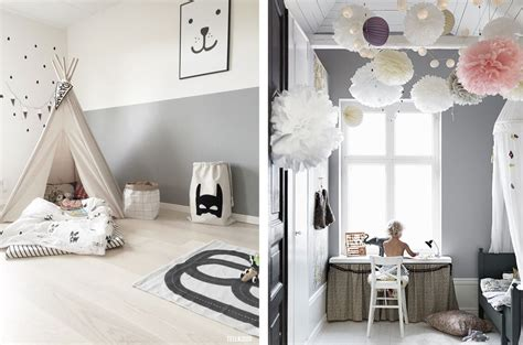 chambre en gris et blanc la fabrique à déco chambre d 39 enfant colorée ou neutre
