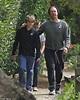 Chris Martin bonds with birthday boy Moses, 14, on stroll ...