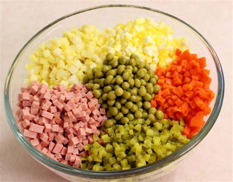 olivier cuisine potato salad olivier salad recipe dishmaps