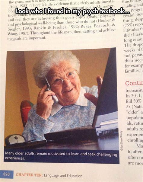 Grandma Meme Computer - tech grandma is everywhere the meta picture