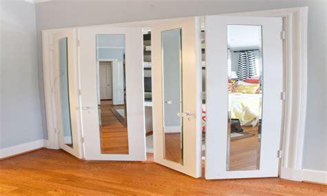 mirrors  metal frames mirrored bifold closet doors