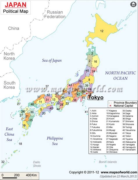 map  japan map illustrates japan provinces country