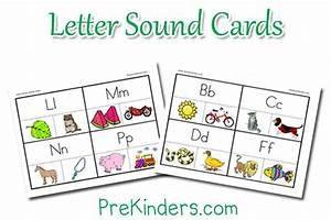 Letter sounds activity cards for Letter sound cards with pictures