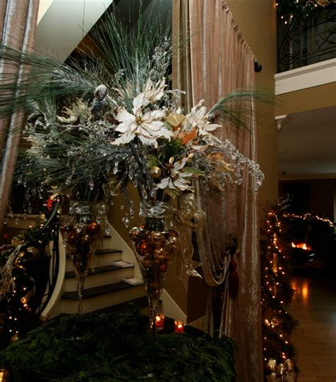 christmas decorations traditional entry san diego