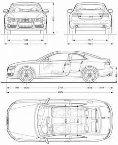 Audi A5 2008 Blueprint