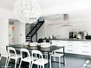 Planisphère Noir Et Blanc : d coration 100 noir et blanc elle d coration ~ Melissatoandfro.com Idées de Décoration