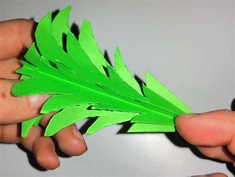 tannenbaum aus papier selber basteln