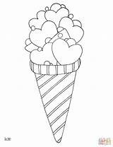 Coloring Ice Cream Pages Cone Printable Icecream Drawing Sheets Desserts Zigzag Template Sheet Bowl Supercoloring Designlooter Getdrawings Lollipops Creative Printables sketch template