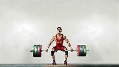 Xiaojun Lu Lifting Weight Olympic Wallpapers Lift