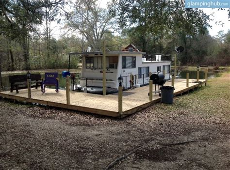 Houseboat New Orleans by Unique Rental Near New Orleans