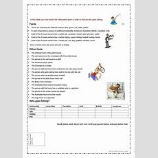 17 Free Esl Riddle Worksheets