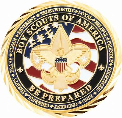 Coin Pricing Boy Scouts Troop Sides Both