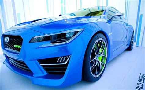 subaru wrx sti hatchback concept   engine specs