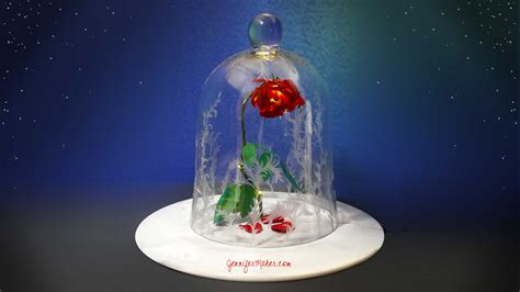 Diy Beauty & The Beast Rose & Jar