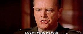 Jack Nicholson A Few Good Men Quotes. QuotesGram