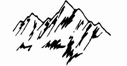 Mountain Clipart Mountains Transparent Drawing Background Webstockreview