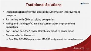 prevention vs reaction developing effective physician With clinical documentation improvement software vendors