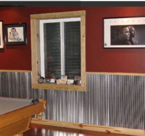 Tin Wainscoting Panels by 1000 Images About Corrugated Wainscoting More On