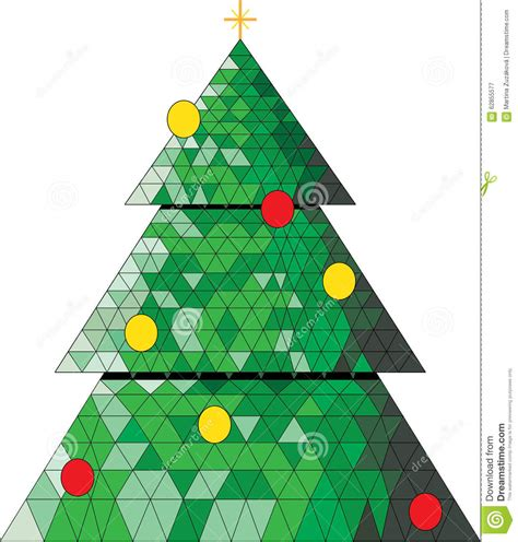 christmas tree stock illustration illustration of