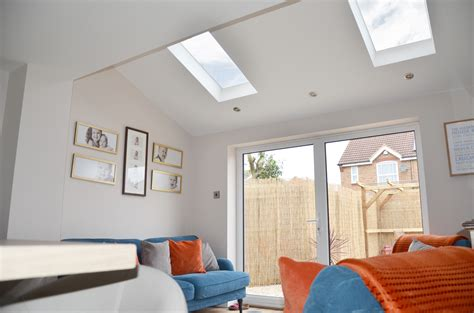 pitched roof windows   kitchen extension