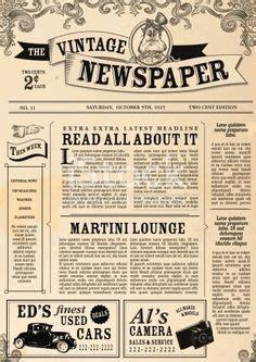 editable  newspaper template    number  nice