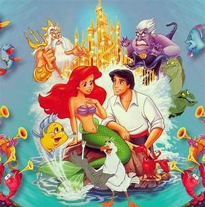 Little Mermaid Old Cover - Cover Dudes