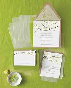 Martha stewart wedding invitations diy mini bridal for Wedding invitations wording martha stewart