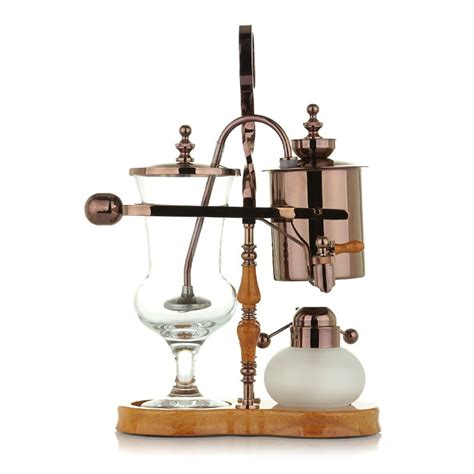 Though they have different when you look at a siphon coffee maker, it's kind of difficult to decipher how it functions but once you learn how to use it, you'll realize that it's very simple. Royal Belgium coffee maker/Barcafe Family use luxury Royal Belgium syphon balance vacuum coffee ...