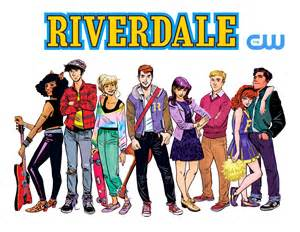 Riverdale TV Series on CW (Illustration by ...