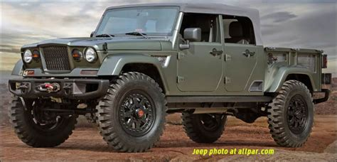 Jeep M715 Concept by Jeep Crew Chief 715 2016 Moab Concept
