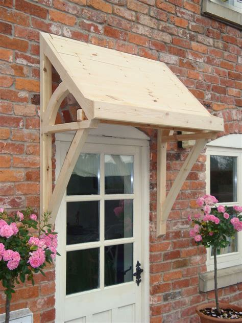 Entry Door Awning by Timber Front Door Canopy Lean To Mono Pitch Ellesmere