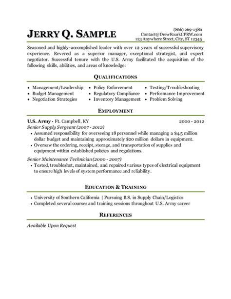 Transition Resumes transition resume resume resume exles