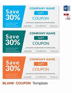 blank coupon templates 26 free psd word eps jpeg With coupon making template
