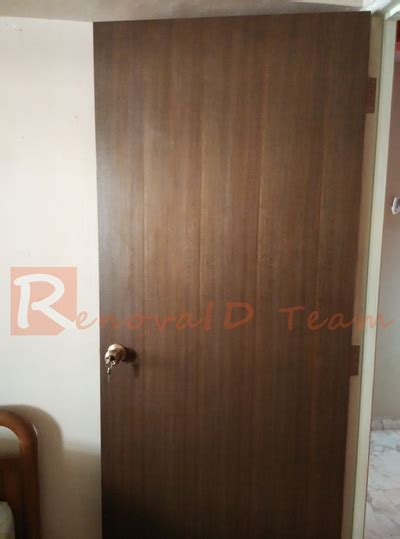 Nyatoh Plywood Door for Bedroom   Doors and Window Specialist
