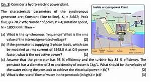 Hydro Power Plant Line Diagram