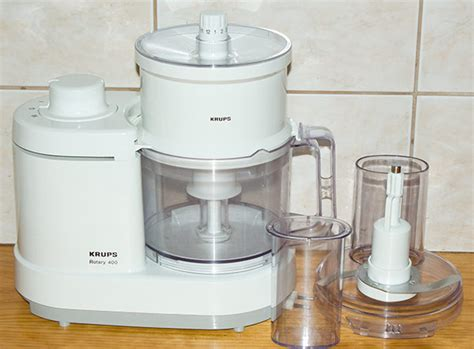 Krups Rotary 400 Grain/flour Mill With Slicer Made In France