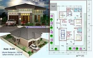 Denah Rumah Minimalis Luas Tanah 90m2 Denah Rumah Minimalis Luas