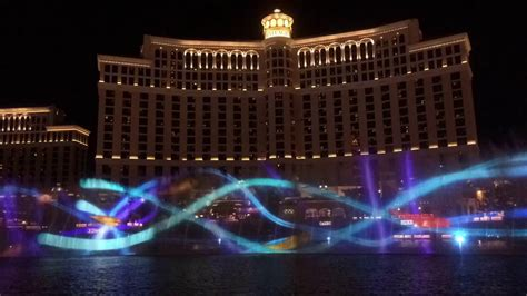 bellagio light show time lapse at bellagio light show may 3 2016
