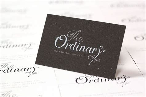 ordinary business cards  mamas sauce  images