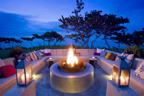 outdoor living space   home